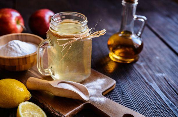 Onko omenaviinietikan ja ruokasoodan yhdistelmällä odottamattomia terveysvaikutuksia?