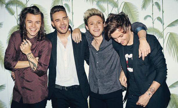Suomalaiset One Direction -fanit osoittautuivat maailman viidenneksi aktiivisimmiksi.