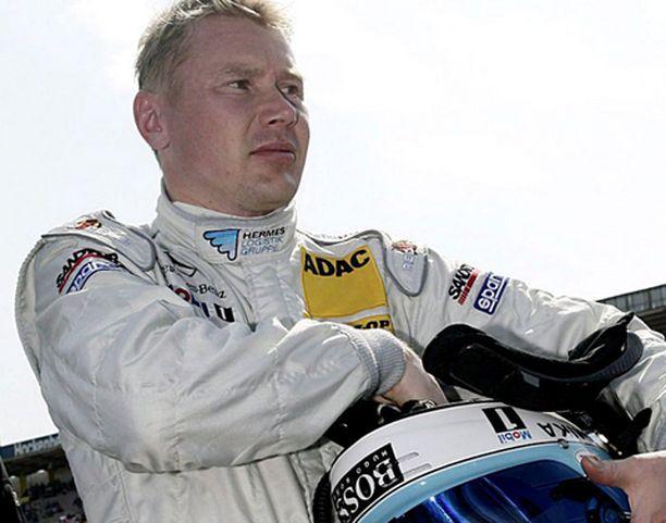 Mika Häkkinen sai viikonloppuna kasaan viisi pistettä.