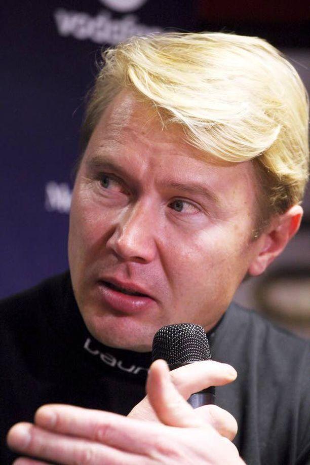 Mika Häkkisen F1-paluu jäi lopulta tekemättä.
