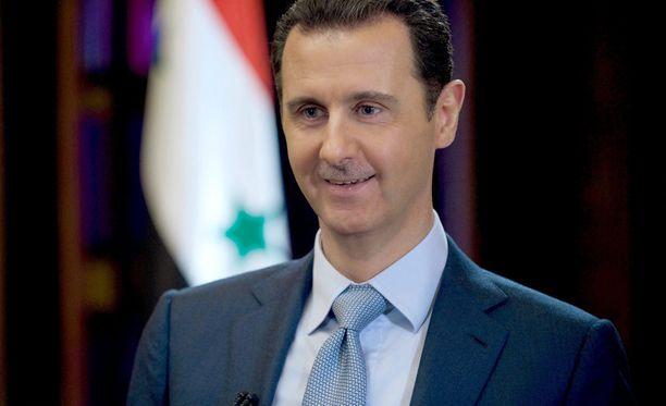 Syyrian presidenttiä Bashar al-Assadia ei hyväksytä rauhanneuvotteluihin.