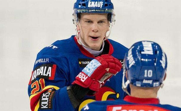 Teemu Eronen ei pelaa HIFK:ta vastaan.