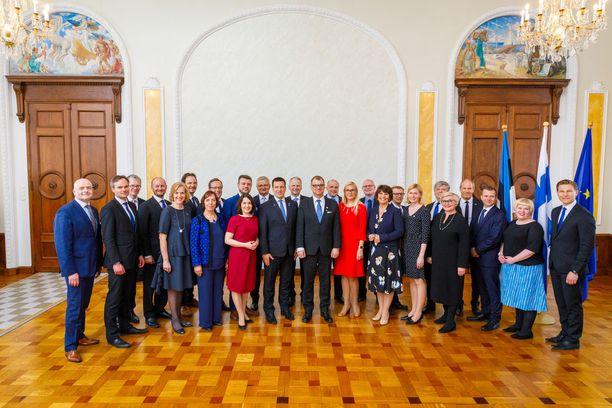 Tallinnassa pidettiin maanantaina poikkeuksellinen Viron ja Suomen hallitusten yhteinen istunto.