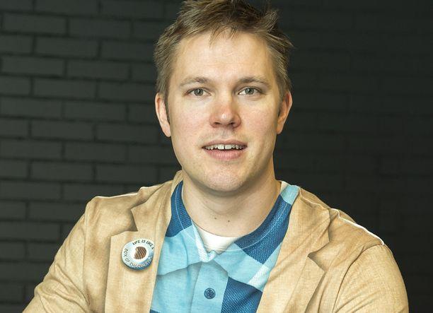 Juha Perälä on työskennellyt radiossa useita vuosia.