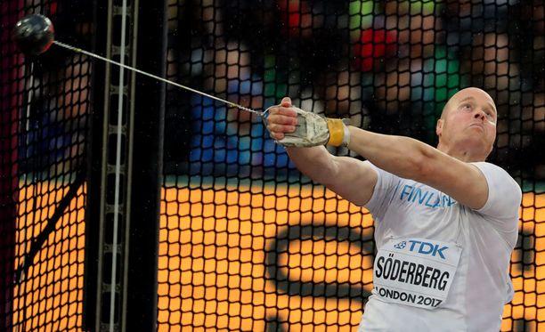 David Söderberg oli oman karsintaryhmänsä kymmenes.