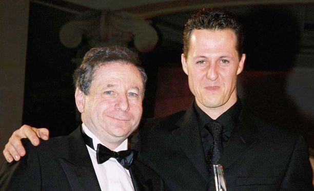 Jean Todt on murheellinen ystävänsä Michael Schumacherin kohtalon takia.