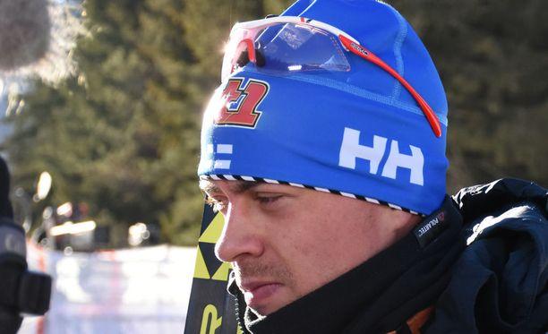 Perttu Hyvärinen oli perjantaina 34:s Tour de Skin viidennellä etapilla.