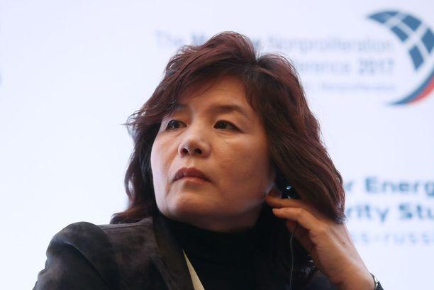 Varaulkoministeri Choe Son-hui ei anna arvoa USA:n varapresidentille.