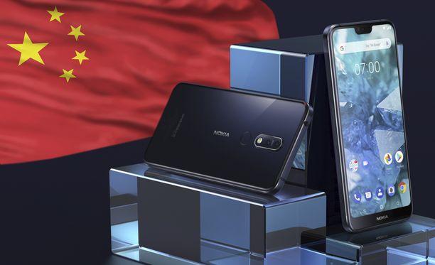 Nokia 7 Plus -käyttäjien tietoja on päätynyt Kiinaan.