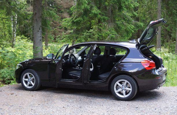 Automme lienee markkinoiden ainoa takaveto-hatchback.