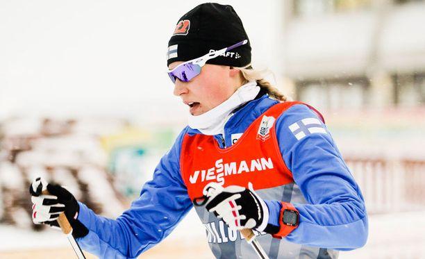 Anne Kyllösellä oli kaksijakoinen viikonloppu Rukan maailmancupissa.