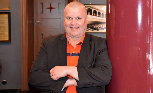 Timo Jutila on laihtunut parissa vuodessa 40 kiloa.