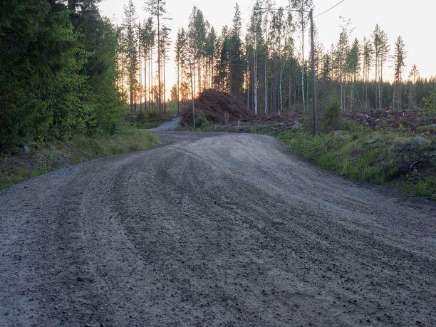 Iltalehden tietojen mukaan onnettomuus sattui tällä tienpätkällä.