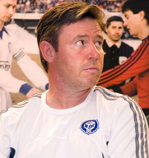 HJK:n luotsi Keith Armstrong on saanut joukkueensa hyvään iskuun karsinnan alla.