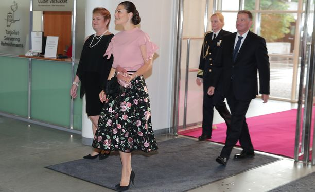 Victoria on pikavisiitillä Helsingissä.
