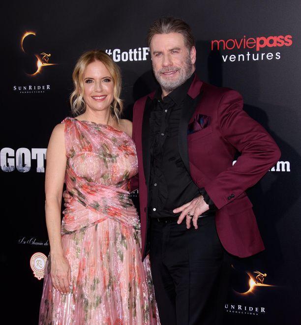 John Travolta ja Kelly Preston olivat naimisissa vuosia.