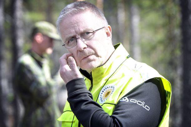 Tutkija Ismo Aaltonen saapui turma paikalle pari tuntia onnettomuuden jälkeen.