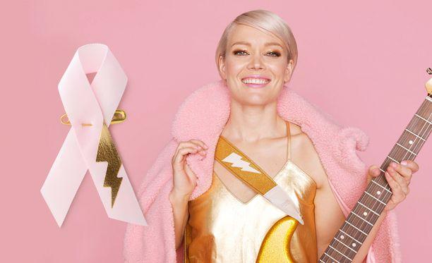 Valtakunnallisen Roosa nauha -keräyksen keulakuva oli tänä vuonna laulaja Anna Puu, joka myös suunnitteli keräyksessä myydyn nauhan.