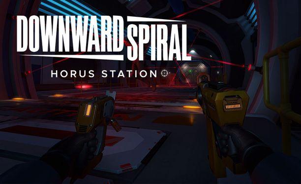 Downward Spiral: Horus Station -pelissä seikkaillaan avaruusasemalla.