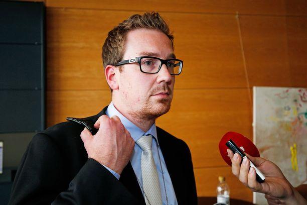 Tutkinnanjohtaja Markus Laineen mukaan näyttö jutussa on moninaista eli kyse on vaikeasta jutusta.