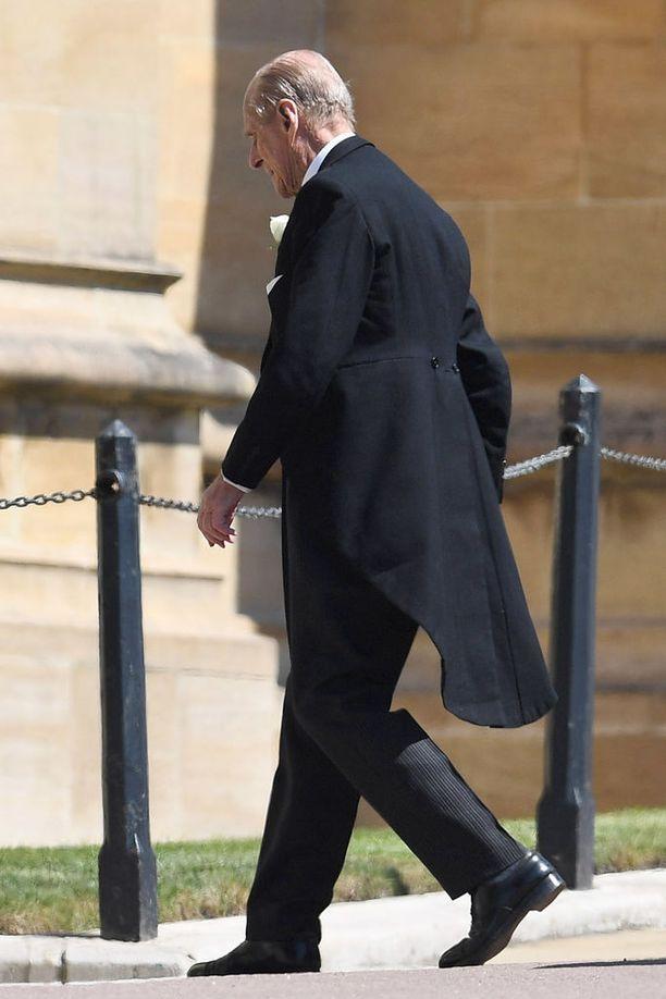 Prinssi Philip jäi eläkkeelle edustustehtävistä viime vuonna. Nykyään prinssi nähdään julkisuudessa vain tärkeissä perhetapahtumissa.