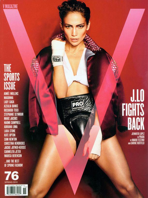 Jennifer Lopez nyrkkeilijänä.