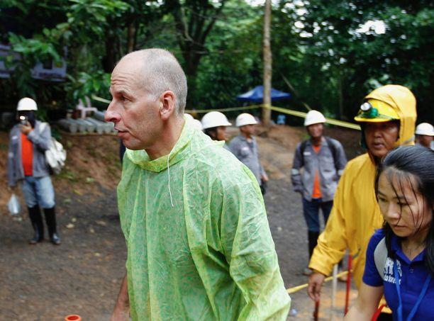 Rick Stantonilla on yli 35 vuoden kokemus luolasukelluksesta.