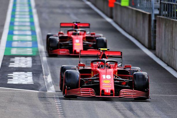 Ferrarin aika-ajosuoritus jäi vaisuksi.