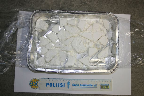 Arkistokuvaa poliisin kokaiinitakavarikosta. Ei liity jutun tapaukseen.
