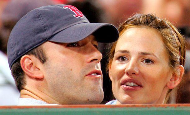 Ben Affleck ja Jennifer Garner pitivät yhtä reilut 12 vuotta.
