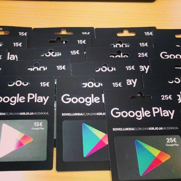 Latauskortteja varastaneet pojat eivät tajunneet, että kortit ovat arvottomia jollei niitä aktivoida kassalla.