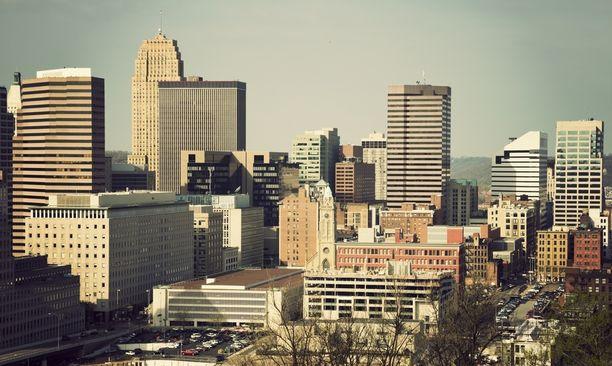 Ammuskelu tapahtui Cincinnatin kaupungissa. (Kuvistuskuva)