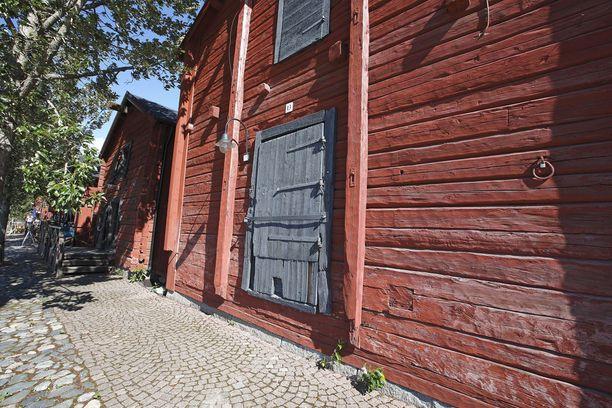 Vanhat rantamakasiinit kuuluvat Oulun ilmeeseen.