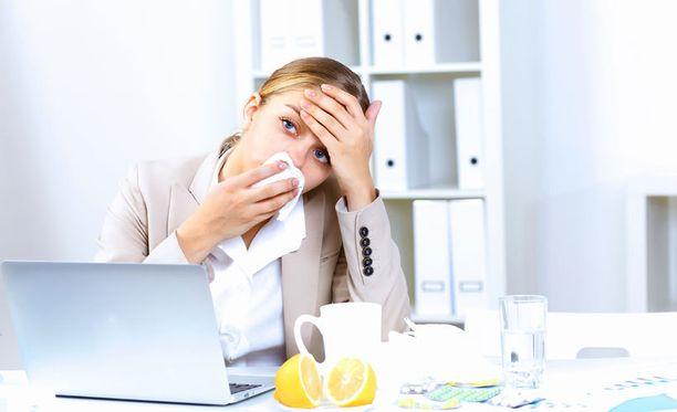Suomalaiset menevät sairaana töihin, mutta ylilääkärin mielestä myös lintsaajia on paljon.