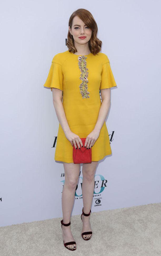 Emma Stone joutui maastavetorääkkiin leffaroolinsa vuoksi.