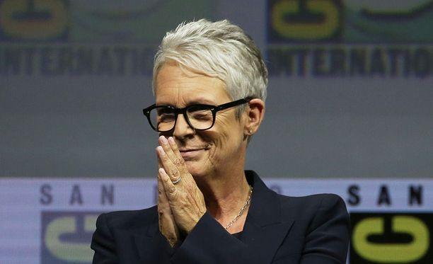Muun muassa Halloween-elokuvista tuttu näyttelijä Jamie Lee Curtis vastaili faniensa ja elokuvaharrastajien kysymyksiin Comic-Con -tapahtumassa San Diegossa.