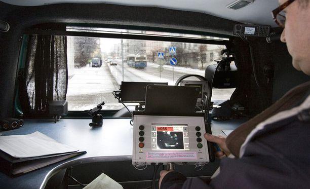 Poliisin Kameravalvonta-Auto