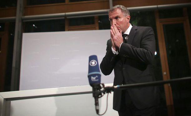 Lufthansan toimitusjohtaja Carsten Spohr sanoo, että onnettomuus on täysin selittämätön.