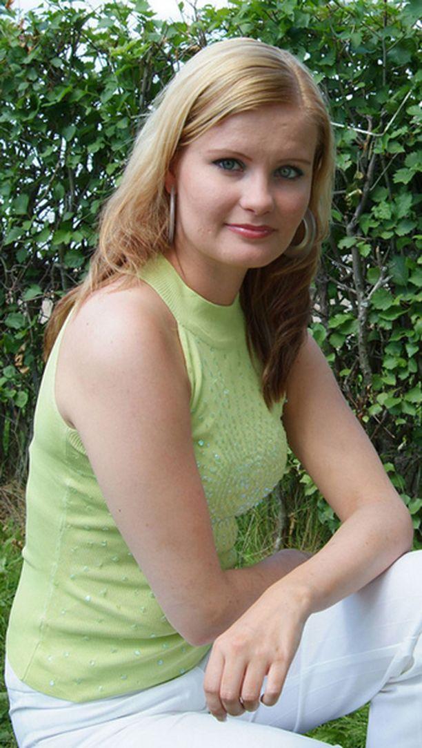 Terhi Lehtoniemi on vuoden 2005 tangoprinsessa.