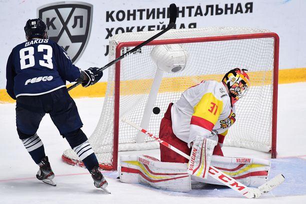 Antti Niemen torjuntaprosentti on heikko 88,8.