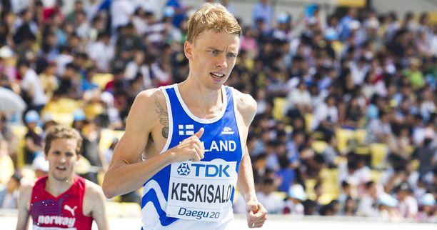 Jukka Keskisalo valittiin ensimmäisten joukossa ensi kesän EM-kisoihin.