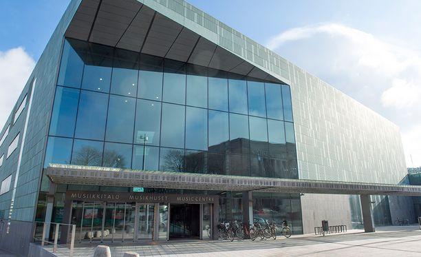 Kansainvälinen konserttihuijari iski Musiikkitaloon.