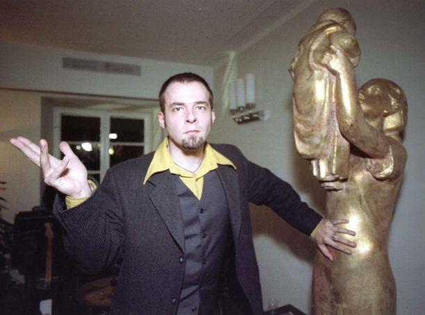 Nuori muusikko vuonna 1996 rockin sm-kisoissa.
