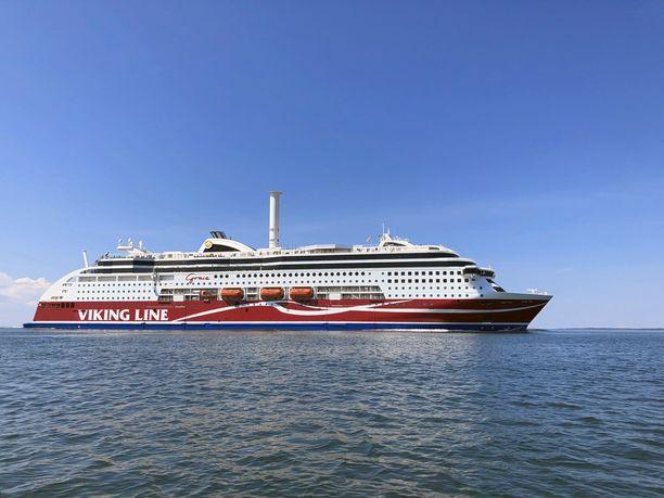 Viking Grace kuljettaa tavallisesti noin 2 800 matkustajaa. Nyt yhtiö on rajannut matkustajamäärän puoleen.