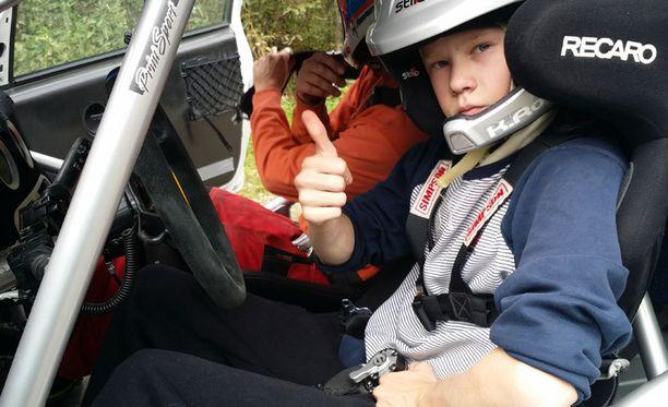 Kalle Rovanperä osaa käskeä ralliautoa.
