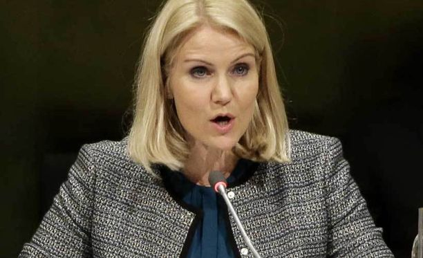 Tanskan pääministeri Helle Thorning-Schmidt kertoi maansa olevan mukana taistelemassa Isisiä vastaan.