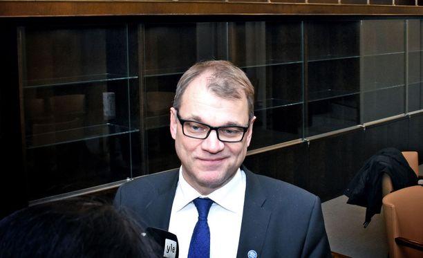 Juha Sipilä summasi hallituksen saavutuksia ja tulevua suunnitelmia eduskunanssa tänään.