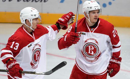 KalPassa loistaneet Jesse Mankinen ja Jaakko Rissanen eivät ole lyöneet läpi KHL:ssä.