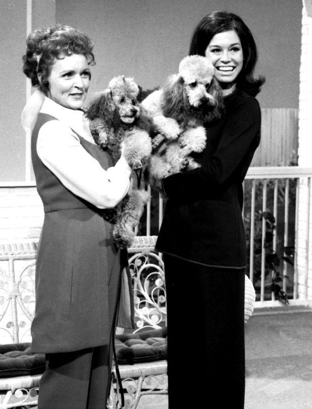 Vuosina 1973-1977 Betty esiintyi Mary Tyler Moore Show'ssa.