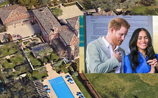 """Harry ja Meghan saivat talonsa """"alennuksella"""" – vain 12 miljoonaa euroa: Tällainen se on"""